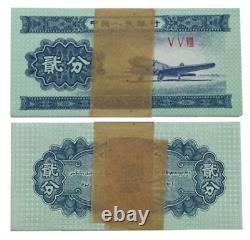 10000Pcs CHINA 1953 2 Fen RMB BANKNOTE CURRENCY UNC Bundle