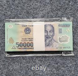 100PCS Vietnam 500000 DOLLARS BANKNOTE CURRENCY VND 500k Vietnamese Dong UNC