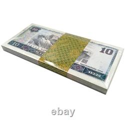 100Pcs CHINA 10 DOLLARS 10 YUAN RMB BANKNOTE CURRENCY 1980 UNC Bundle