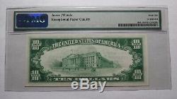 $10 1929 Cullman Alabama AL National Currency Bank Note Bill Ch. #9614 UNC65EPQ
