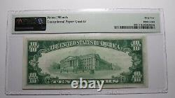 $10 1929 Wisconsin Rapids Wisconsin National Currency Bank Note Bill #4639 UNC64
