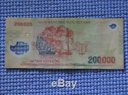 10 MILLION DONG = 50 x 200,000 VIETNAM POLYMER CURRENCY BANKNOTES UNC