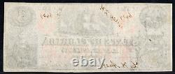 1863 US Obsolete Currency Civil War Era CR17 State of Florida $3 AU Unc Beauty