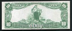 1902 $10 The Nb Of The Republic Of Chicago, IL National Currency Ch. #4605 Unc