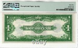 1923 $1 Silver Certificate Note Currency Fr. 238 Woods/White PMG Gem UNC 65 EPQ