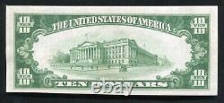 1929 $10 The Central Nb Of Chillicothe, Oh National Currency Ch. #2993 Unc