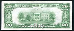 1929 $20 The Riggs Nb Of Washington, D. C. National Currency Ch #5046 Unc (c)