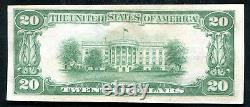 1929 $20 The Riggs Nb Of Washington, D. C. National Currency Ch #5046 Unc (e)