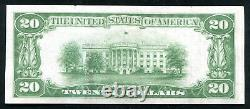 1929 $20 The Riggs Nb Of Washington, D. C. National Currency Ch #5046 Unc (m)