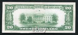 1929 $20 Tyii 1st National Bank Of Danville, IL National Currency Ch. #113 Gem Unc