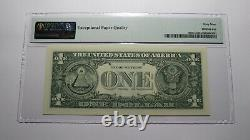 $1 2017 Radar Serial Number Federal Reserve Currency Bank Note Bill PMG UNC69EPQ