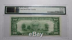 $20 1929 Delhi New York NY National Currency Bank Note Bill! Ch. #1323 UNC63EPQ