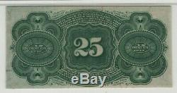 25 Cent Fourth Issue Fractional Postal Currency FR. 1303 PMG Certified CU 64 UNC