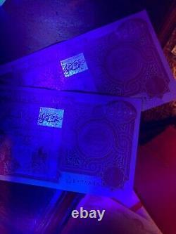 4 x 25,000 IQD = 100,000 IRAQI DINAR UNC BANKNOTES (Iraq Currency)