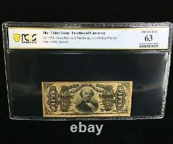 50 Cent Third Issue Fractional Currency Fr#1339 Pcgs Banknote Choice Unc 63(876)