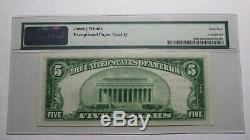 $5 1929 Lake Village Arkansas AR National Currency Bank Note Bill #13632 UNC64