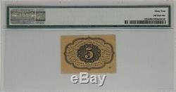5 Cent First Issue Fractional Currency Fr#1228 Pmg Choice Unc 64 (001)