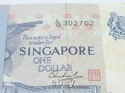 99 Pcs. Bundle Singapore $1 Bird Flag Dancer Unc Currency Money Bank Note