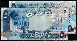Bahrain currency 2008 pair money 5 Dinar replacement serial number banknote UNC