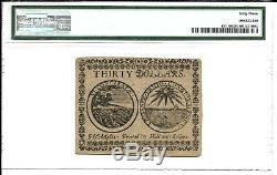 CC-10 CONTINENTAL CURRENCY $30 May 10, 1775 PMG 63 UNC FREE SHIPPING