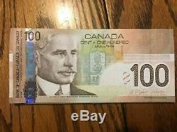 Canada Currency $100 Banknote 2004 Jenkins Dodge UNC Excellent Condition