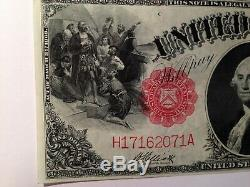 FR 37 LARGE Size $1.00 US Currency Horse Blanket UNC