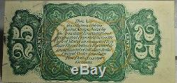 Fr. 1294 25 Twenty Five Cents Third Issue Fractional Currency Note Gem Unc