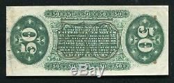 Fr. 1362 50 Fifty Cents Third Issue Justice Fractional Currency Note Gem Unc
