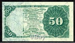 Fr. 1379 50 Fifty Cents Fourth Issue Dexter Fractional Currency Choice Unc