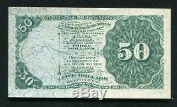 Fr. 1379 50 Fifty Cents Fourth Issue Dexter Fractional Currency Note Gem Unc