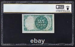 JC&C Fr. 1309 25¢ Fractional Fifth Issue Currency UNC 64 by PCGS Banknote