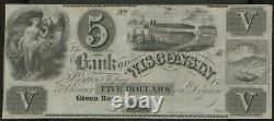 Obsolete Currency Green Bay, WI- Bank of Wisconsin $5 18 Crisp Unc. Remainder