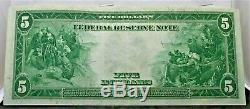 Series of 1914 $5 Blue Seal Unc. USA LARGE CURRENCY