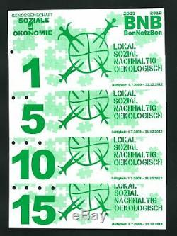 Switzerland BNB 1 5 10 15 2009 UNC Local Currency Polymer Banknote Set 4 pcs