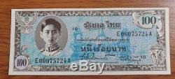 Thailand Memorial Banknotes King Rama VIII Siam Valuable Currency Precious Rare