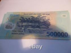 Vietnamese Dong 16 Million (32 x 500000 Note) Vietnam VND Note Currency UNC