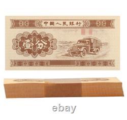 10000pcs Chine 1953 1 Fen Rmb Banknote Monnaie Unc Bundle