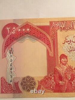 100 000 Dinars Irakiens Devise 4 X 25 000 Iqd Unc Iraq Dinar Billets De Banque 2003