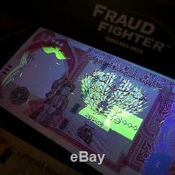 100 000 New Irak Monnaie (iqd) 2013 25000 Iraqi Dinar (2013) X 4 Pcs Unc
