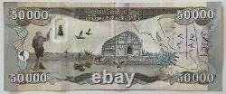 100 000 Nouveaux Banques Dinaires Iraqi Unc 2 X 50 000 Iqd (2020 Monnaie Iraq)