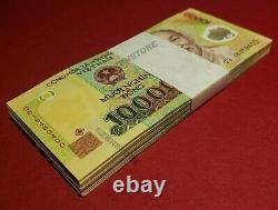100 X 10 000 (100 000) Vietnam Dong Billets Monnaie 1 Million Unc Vnd 100pcs