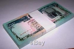 100 X Afghanistan 10000 Billets Afghanis P63 Paquet 1993 Monnaie Unc