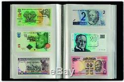 102 Pays 102pcs 100 Unc Différent Du Monde Billets Bundle Set + Devise Album