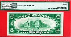 $10 1929 Frbn New York Pmg 65 Gem Unc Epq 1860-b National Currency B03408198a