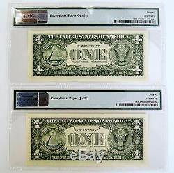 (10) Billet D'étoile En Dollars Us (1) Consécutif En 2003 À Atlanta (pmg Gem Unc 66 Epq)