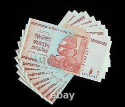 10 X Zimbabwe 20 Billions De Dollars Billets De Banque-2008/aa / À Propos De La Monnaie Unc