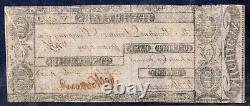 1806 Us Obsolète Monnaie Signée Par Augustus Woodward Detroit Bank 10 $ Au/unc