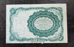 1874 U. S. Fractional Série Monnaie 10c (unc) 5 E Numéro I069