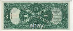 1917 $1 Legal Tender Red Seal Note Devise Fr. 39 Pmg Choice Unc 64 Epq (627a)