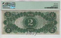 1917 $2 Legal Tender Red Seal Note Currency Fr. 60 Pmg Choice About Unc 58 (026a)